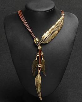 bohemian gemstone necklace