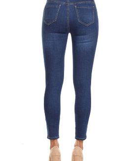 stripe jeans back view