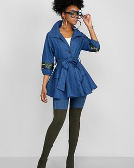 peplum jacket (front)