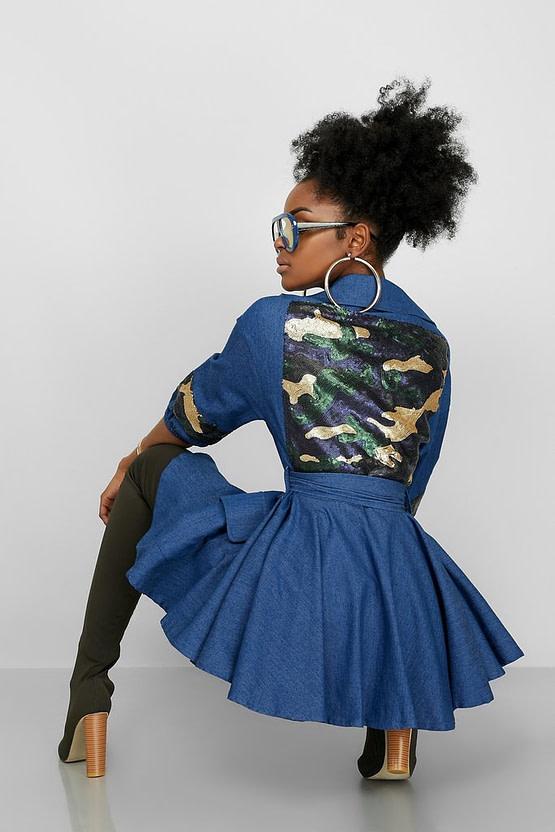peplum jacket (back)